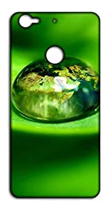 Happoz Water Drop Reflection Letv LeEco 1s back case Mobile Phone Back Panel Printed Fancy Pouches Accessories Z772