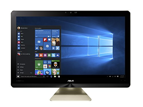Asus Zen All in One S Z240ICGT-GJ018X 60,5 cm (23,8 Zoll Ultra HD) All-in-One Desktop-PC (Intel Core i7 6700T, 32GB RAM, 512GB SSD, Nvidia GTX960M, Win 10 Home) metallic