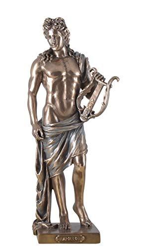 Veronese Figura del Apollo con Licra Estatua Escultura Griega Dioses Bronce