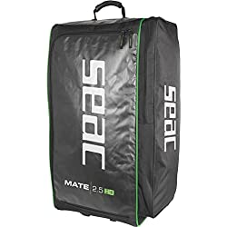 Seac Sac roulette Mate 2.5 HD, Volume 126 Litres, Poids 2,5 Kg