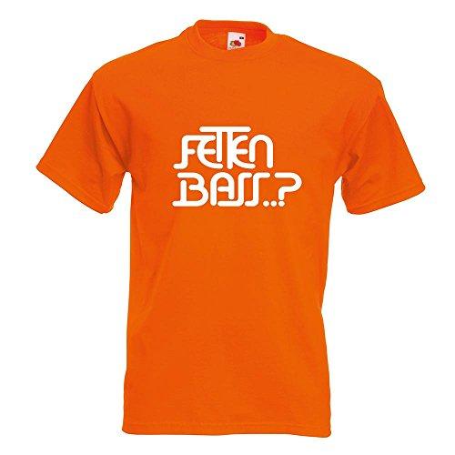 KIWISTAR - Fetten Bass T-Shirt in 15 verschiedenen Farben - Herren Funshirt  bedruckt Design