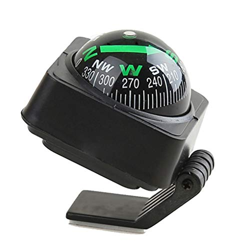 BoburyL Auto-LKW-Boot Selbstklebende Kompass Ball Armaturenbrett Navigation Führer Platzierung Dekoration Ornament -