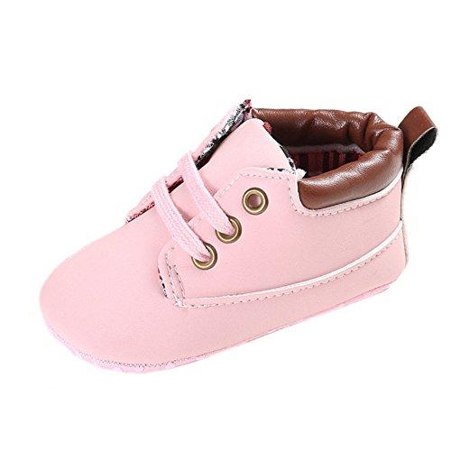 Hellrosa Frog Baby Sneakers Lauflernschuhe Sneakers Jungen Leap