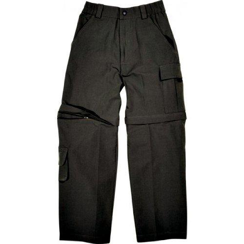 Hot de Sportswear Barcelone Graphite Enfants Zip Off Pantalon Pantalon pour Enfant, 16 Ans