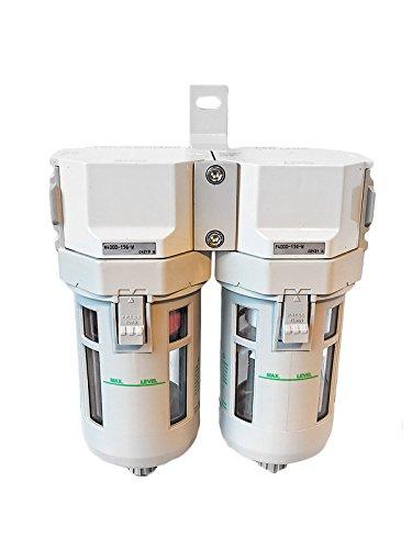 CKD M,F,B 4000 Filtersatz Luftfilter Wasserabscheider Öler 1/2