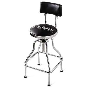 Phenomenal Craftsman Adjustable Hydraulic Seat Stool Black Amazon Co Machost Co Dining Chair Design Ideas Machostcouk