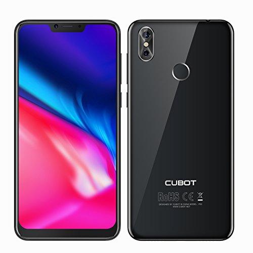 CUBOT P20-6.18 Pulgadas 19:9 - Android 8.0 4G Smartphone Octa Core - 4GB RAM 64GB ROM - Batería 4000mAh - Cámaras...