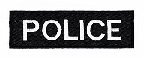 Écusson bügelbild patch iron on patchs application uniforme uS police