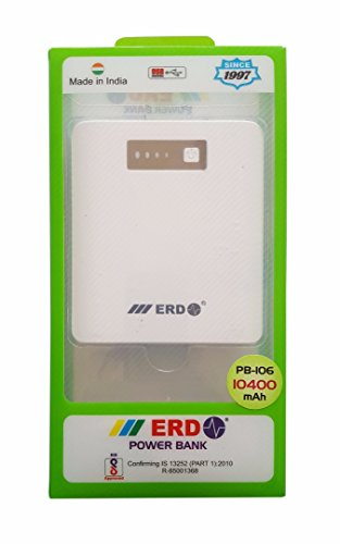 ERD Scotch-Brite 10400 mAh Power Bank (White)