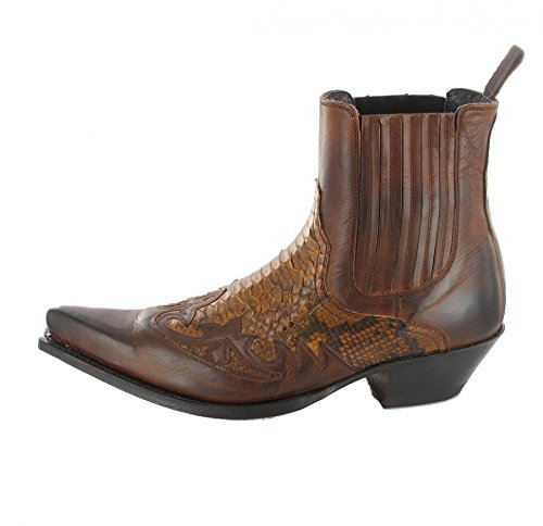 Sendra Boots 9396P, Stivali uomo Multicolore multicolore Marrone (Marron Piton Cuero)