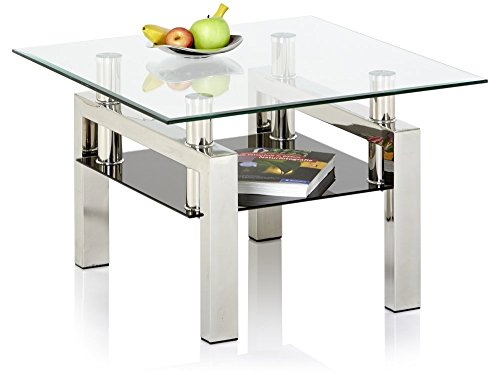 couchtisch quadratisch glas bestseller shop f r m bel. Black Bedroom Furniture Sets. Home Design Ideas
