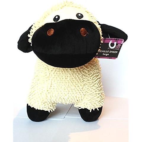 Regalo escocés Grande Tierras altas Oveja Peluche Chenille oveja Muñeco De Peluche - Regalo reino unido