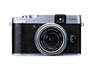 Fujifilm X20 Digital Camera Silver (12MP X-Trans CMOS II With EXR Processor II, 4x Optical Zoom) 2.8 inch Premium LCD