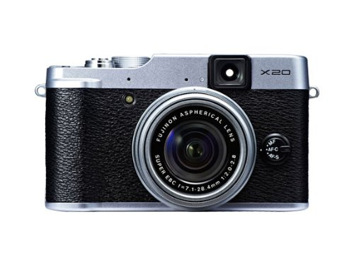 Fujifilm finepix x20 fotocamera digitale, sensore cmos, 12 megapixel