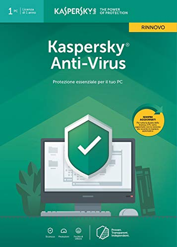 Kaspersky Antivirus 2019 1 User Renewal
