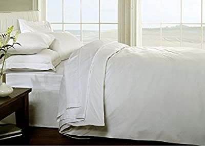 [hachette] 3PC 200TC [PLAIN CREAM/SUPER KING SIZE] 100% EGYPTIAN COTTON DUVET COVER BEDDING BED DUVET SET WITH PILLOWCASES 200 THREAD COUNT - low-cost UK light store.
