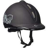 Covalliero–Casco da equitazione Beauty VG1, Unisex, Helm Reithelm Beauty VG1,