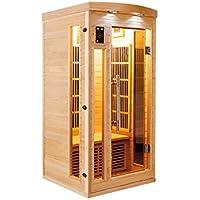 Sauna infrarrojo apollon 1 persona SN-APOLLON-1