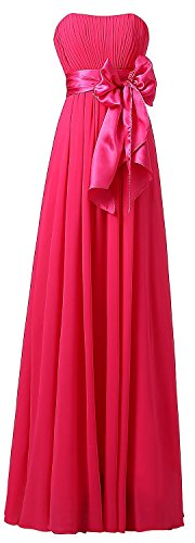 Fanciest -  Vestito  - linea ad a - Donna Hot Pink