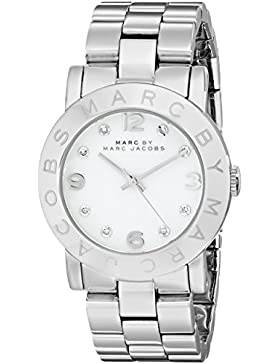 Marc Jacobs Damen-Armbanduhr Analog Quarz Edelstahl MBM3054