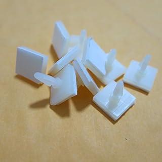 100x Nylon stick on Selbstklebender Spacer Abstandshalter Standoff for 3mm Loch durchmesser Leiterplatte Platinen HC5