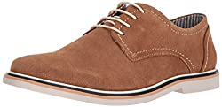 Steve Madden Mens Frick Oxford, Tan Suede, 7.5 M US