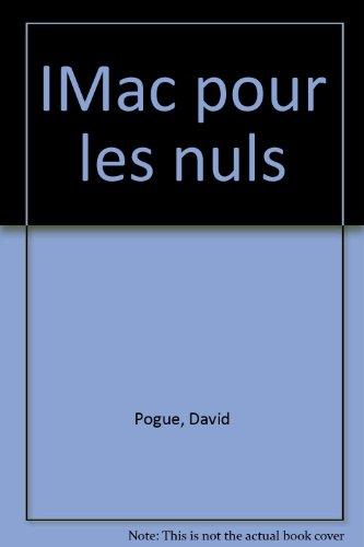 IMac Poche pour les Nuls (2e édition) par David Pogue