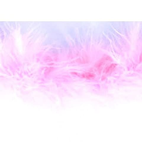 Impex Marabou Boa Feather Trimming Pink - per metre