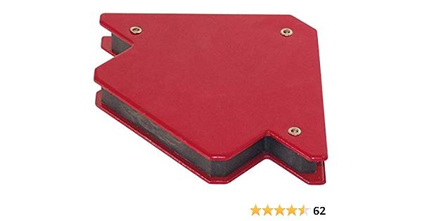 zum Schwei/ßen Fest Winkel der Magnetischen Schwei/ßhalter 4 St/ück Magnetische Schwei/ßhalter Winkel L/öten Locator Corner Rot