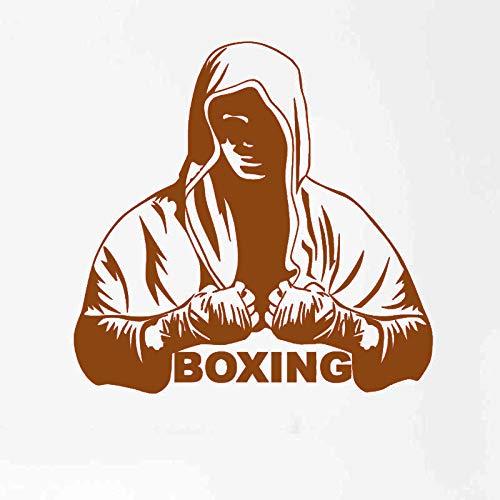 guijiumai Dctal Boxhandschuh Aufkleber Kick Boxer Spielen Auto Aufkleber Combat Poster Vinyl Striker Wandtattoos Parede De 3 58x58 cm