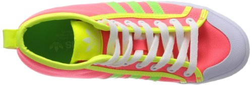adidas - Honey Stripes Up W, - Donna Corallo/Multicolore