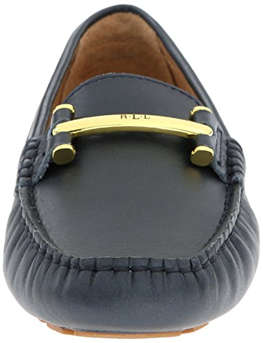 Lauren Ralph Lauren Caliana Slip-on Mocassins Modern Navy Pearlized