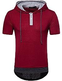 Herren Kurzärmlige Sportbekleidung Camo Tarnen Kariet Kompression T-shirt Tops