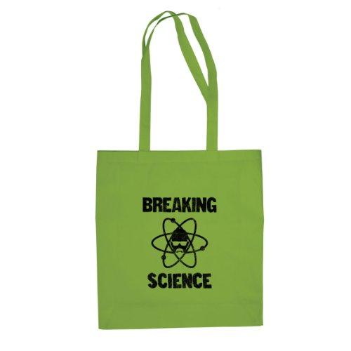 Breaking Science - Stofftasche / Beutel Hellgrün