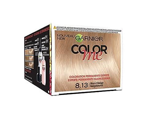 Garnier Color Me Coloration Cheveux Permanente Blond Beige 8.13 -