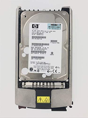 Disque Dur Festplatte HP Compaq 36,4 GB Hard Drive U320 SCSI 10K 3,5p 80PIN BD03686223 289041-001 3R-A4027-AA MAP3367NC 271837-003 300955-014 CA06200-B10100DC - Compaq Scsi-festplatte