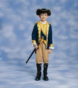 Patriot Boy Child Halloween Costume Size 8-10 Medium (Patriot Boy Kostüm)