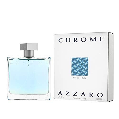 3.4 Unzen-herren Duft (Azzaro Chrome Men EDT Spray 100.0 ml, 1er Pack (1 x 100 ml))