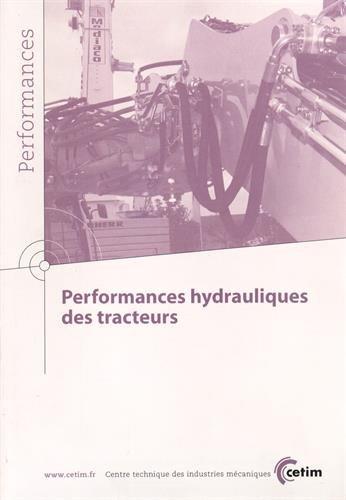 Performances hydrauliques des tracteurs