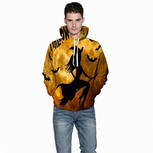 Schiere Übergröße Kostüm - Unisex Pullover Sweatshirt T-Shirt Hoodie Pulli Tank Top ◆Elecenty◆ Wintermantel Kapuzenpullover Sport Sweatshirts Jacke Mantel Outwear Männer