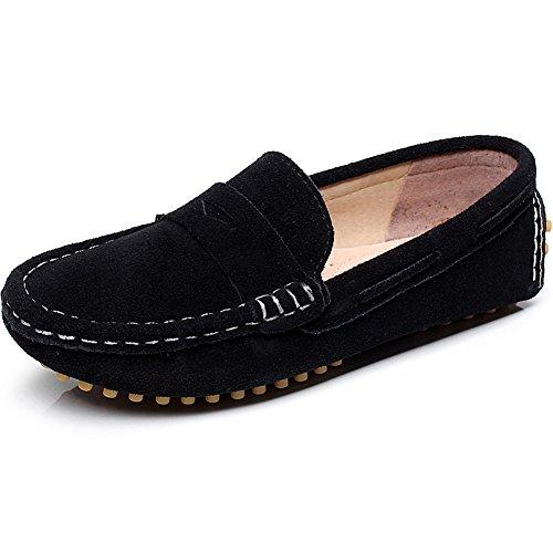 Children's Comfort Shenn daim Loafers/plats Noir - noir