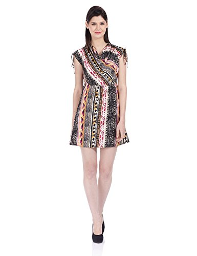 NOI Women's A-line Dress (AW13 NOI NATALIE_Pink_Small)  available at amazon for Rs.389