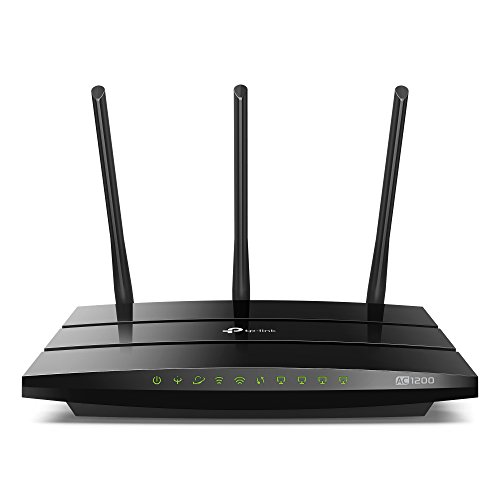 TP-Link AC1200 Wireless Dual Band VDSL/ADSL Modem Router for Phone Line Connections (BT Infinity, TalkTalk, EE and PlusNet Fibre) 1 USB, 2.0 Ports, UK Plug (Archer VR400)