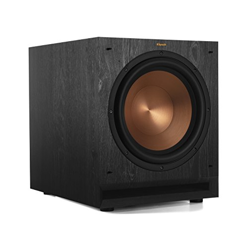 Klipsch SPL-120 kraftvoller detailreicher Home-Lautsprecher (1 Stück) schwarz - Spl 12-zoll-subwoofer
