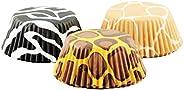 Fox Run Brands 50 Count Zebra Stripe Bake Cups