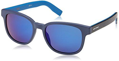 Boss orange bo 0193/s 1g i8v, occhiali da sole uomo, blu hvnbluee/multilayer bluee, 52