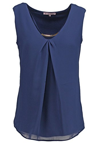 Anna Field Top Damen in Blau, Größe 40