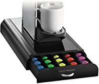 Mind Reader 50-Cup Nespresso Capsule Drawer Black