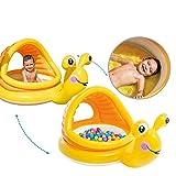 Piscine de boule de piscine d'ombre d'escargot de bébé de Double-utilisation, abris du soleil de protection UV de protection de peau de tente de plage et de piscine gonflables mous de sécurité de peau