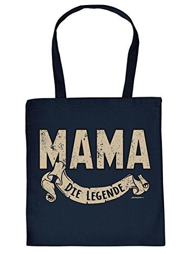 Stofftasche Tragetasche Umhängetasche zum Geburtstag u Muttertag - Mama die Legende!